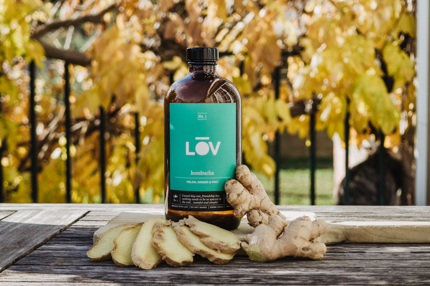LOV No.1 - Closer Look To Fresh Ginger